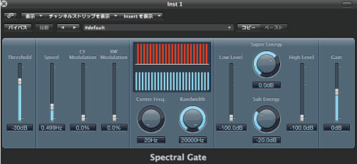 Spectral Gate